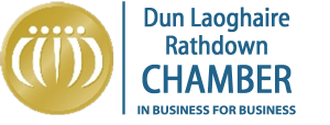 Chamber of Commerce DLR Colour Logo on Clear Background